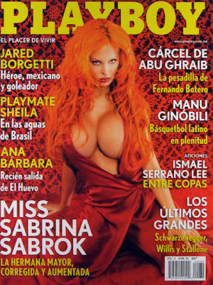 Playboy Mexico - Playboy (Mexico) August 2005