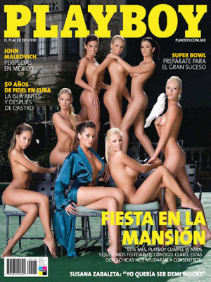 Playboy Mexico - Playboy (Mexico) Jan 2009