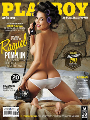 Playboy Mexico - Playboy (Mexico) August 2013