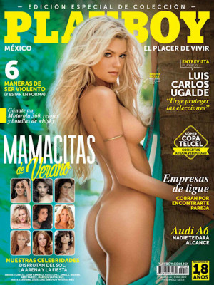 Playboy Mexico - Playboy (Mexico) June 2015