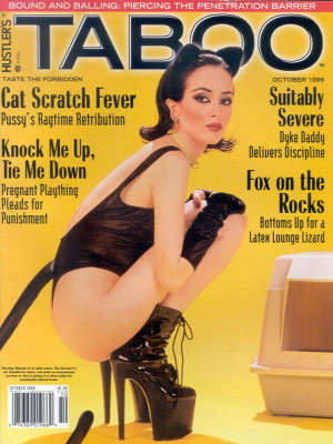 Hustler's Taboo - October 1999