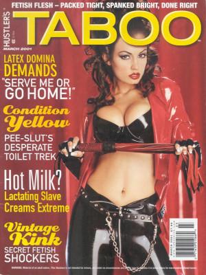 Hustler's Taboo - March 2001