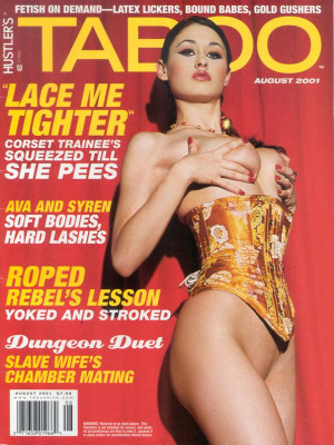 Hustler's Taboo - August 2001