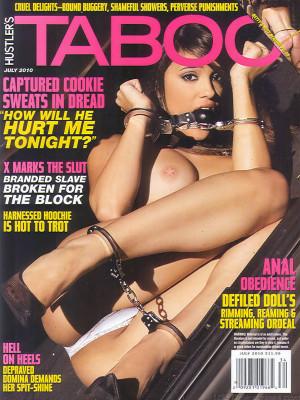 Hustler's Taboo - July 2010
