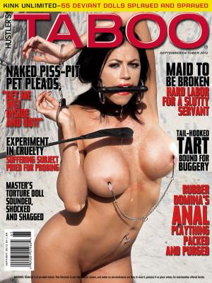 Hustler's Taboo - September/October 2012