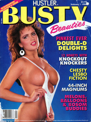 Hustler's Busty Beauties - September 1988