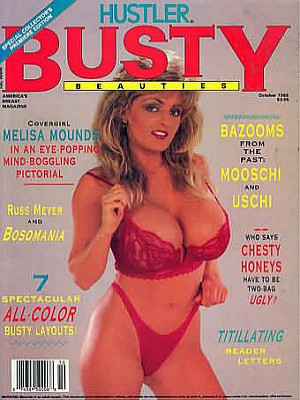 Hustler's Busty Beauties - October 1988