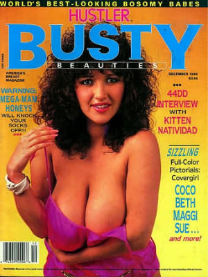 Hustler's Busty Beauties - December 1988