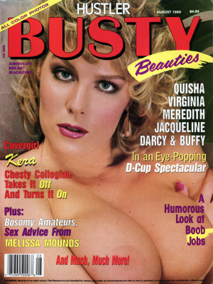 Hustler's Busty Beauties - August 1989