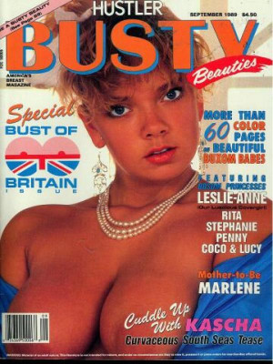 Hustler's Busty Beauties - Sept 198