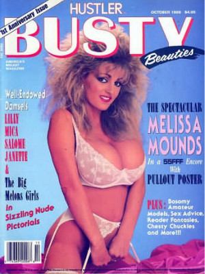 Hustler's Busty Beauties - October 1989