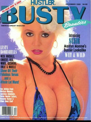 Hustler's Busty Beauties - December 1989