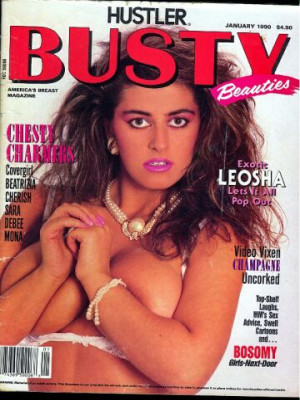 Hustler's Busty Beauties - January 1990