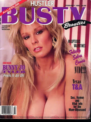 Hustler's Busty Beauties - February 1990