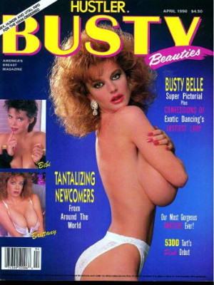 Hustler's Busty Beauties - April 1990