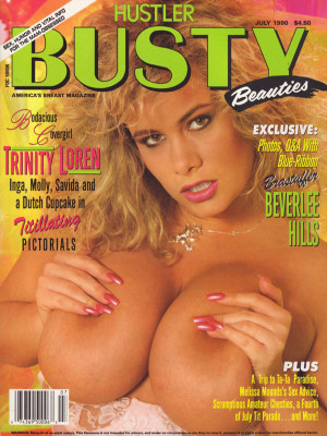 Hustler's Busty Beauties - July 1990