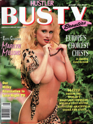 Hustler's Busty Beauties - August 1990