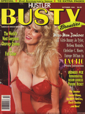 Hustler's Busty Beauties - October 1990