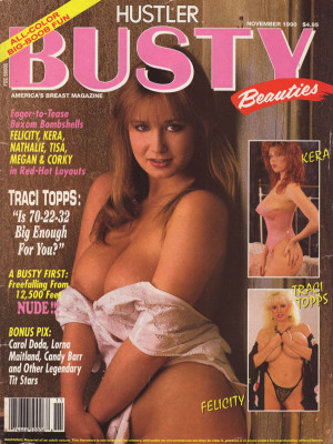 Hustler's Busty Beauties - November 1990