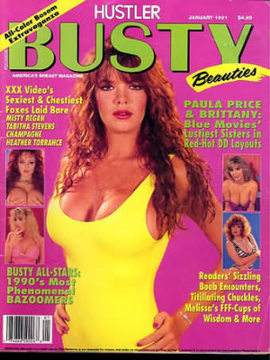 Hustler's Busty Beauties - January 1991
