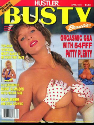 Hustler's Busty Beauties - April 1991