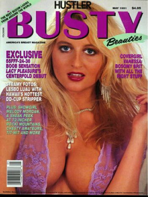Hustler's Busty Beauties - May 1991