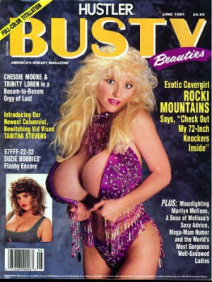 Hustler's Busty Beauties - June 1991