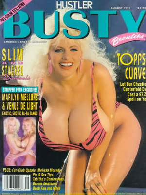 Hustler's Busty Beauties - August 1991
