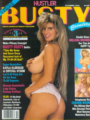 Hustler's Busty Beauties - October 1991