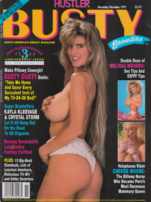 Hustler's Busty Beauties - November/December 1991