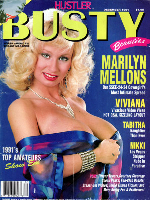 Hustler's Busty Beauties - December 1991