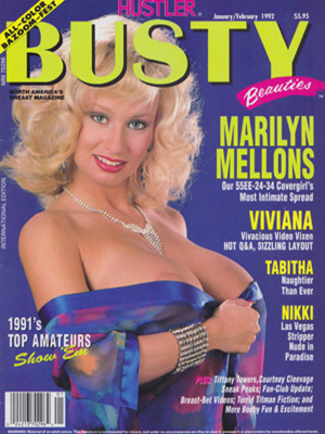 Hustler's Busty Beauties - January/February 1992