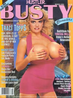Hustler's Busty Beauties - March 1992