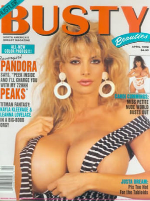 Hustler's Busty Beauties - April 1992