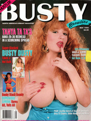 Hustler's Busty Beauties - May 1992