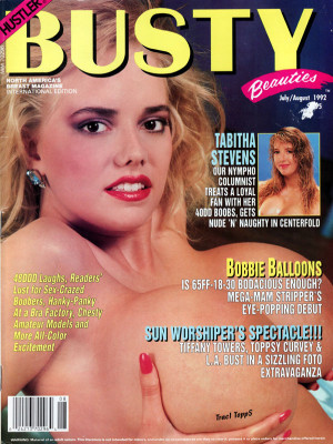 Hustler's Busty Beauties - June 1992