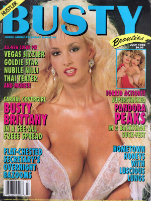 Hustler's Busty Beauties - July 1992