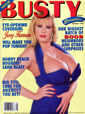 Hustler's Busty Beauties - August 1992
