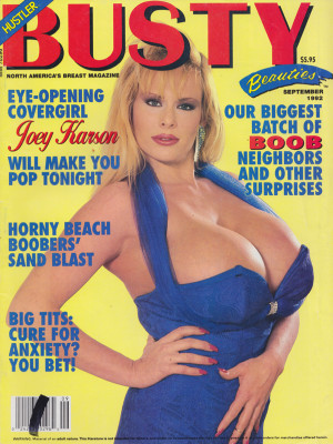 Hustler's Busty Beauties - September 1992