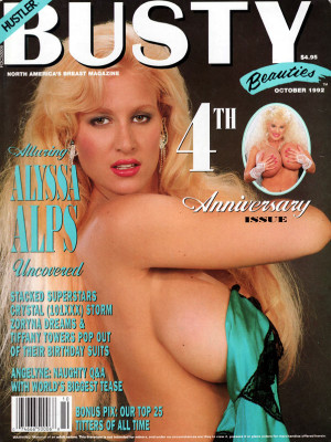 Hustler's Busty Beauties - October 1992