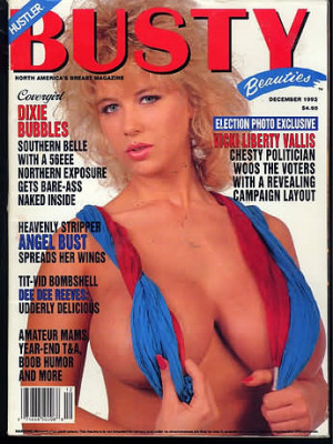 Hustler's Busty Beauties - December 1992
