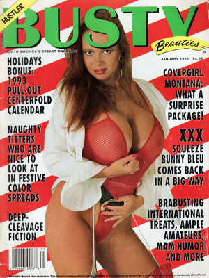 Hustler's Busty Beauties - January 1993