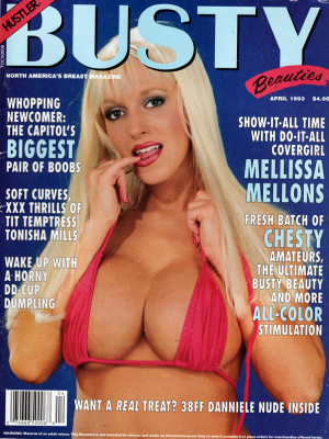 Hustler's Busty Beauties - April 1993