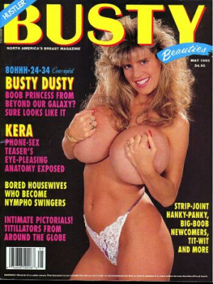 Hustler's Busty Beauties - May 1993