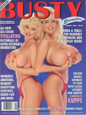 Hustler's Busty Beauties - August 1993