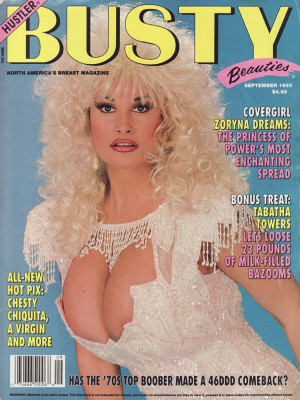 Hustler's Busty Beauties - September 1993