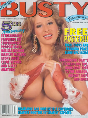 Hustler's Busty Beauties - October 1993