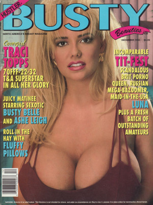 Hustler's Busty Beauties - December 1993
