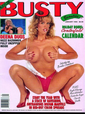 Hustler's Busty Beauties - January 1994