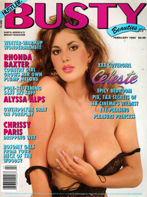 Hustler's Busty Beauties - February 1994